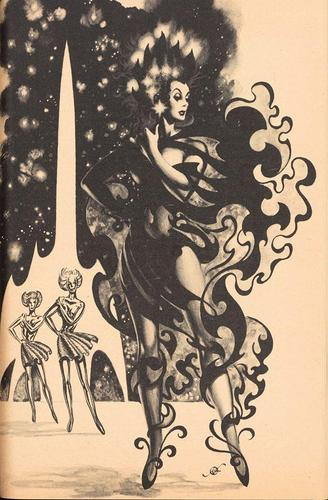 Frank Kelly Freas The Far Traveller b&w-small