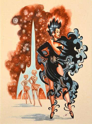 Frank Kelly Freas The Far Traveller-small