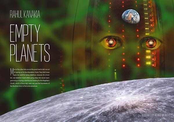 Interzone 262 Empty Planets