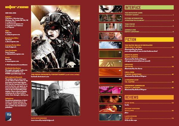 Interzone 262 contents