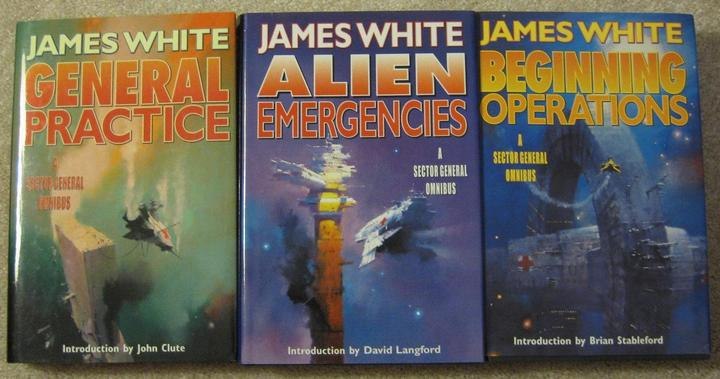 Sector General omnibus volumes James White-small