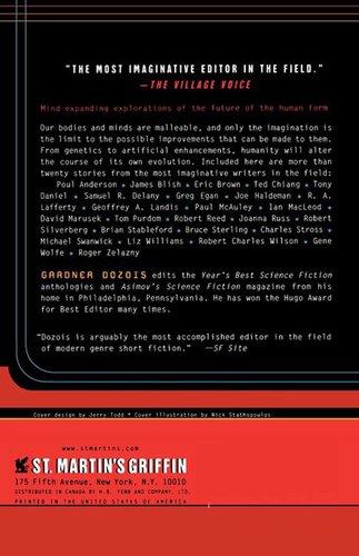 Supermen Tales of the Posthuman Future-back-small