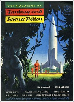 The Magazine of Fantasy and Science Fiction, July 1953. Edited by Anthony Boucher; cover by Emsh
