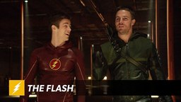 Flash: I'm fun! Arrow: I'm hot. Me: Truth.