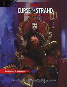 Cover of the Curse of Strahd adventure supplement. (Source: Wizards of the Coast)