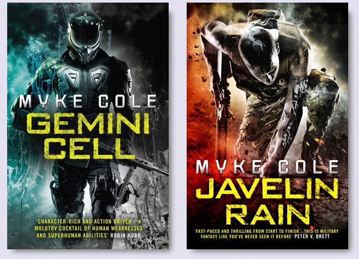 Gemini Cell Javelin Rain Myke Cole