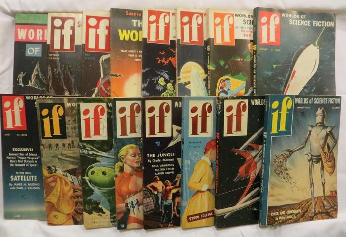 If Worlds of Science Fiction 50s lot 5-small