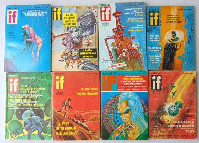 If Worlds of Science Fiction 60s lot-small