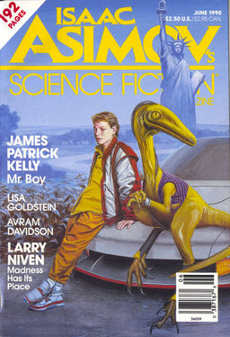 Isaac Asimov's Science Fiction Magazine June 1990-small