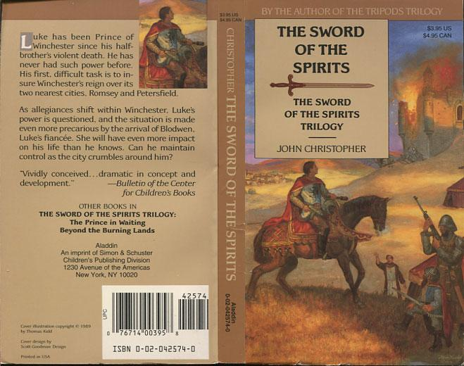 John Christopher The Sword of the Spirits