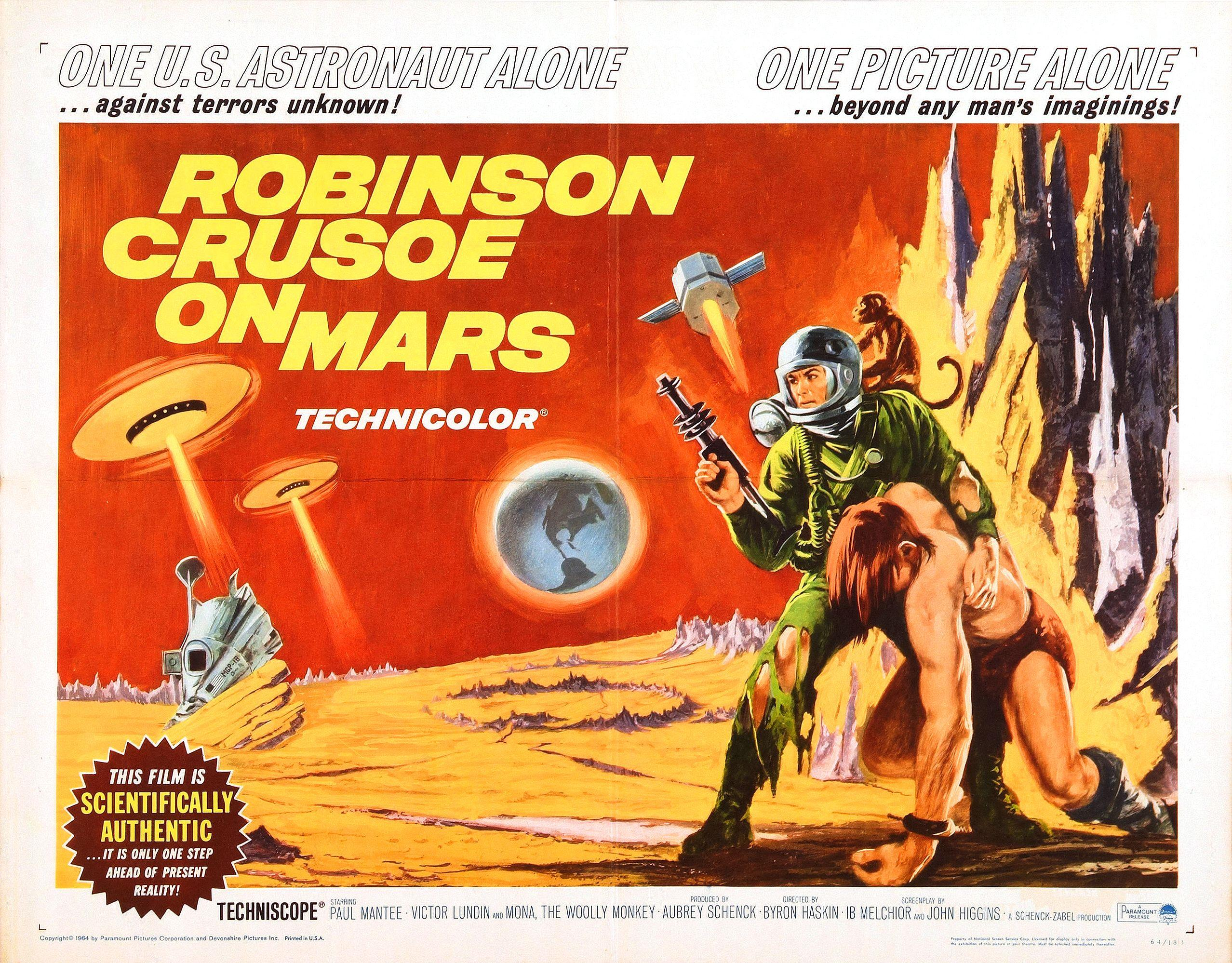 black gate acirc articles acirc that movie about the guy who s stranded on robinson crusoe on mars poster small