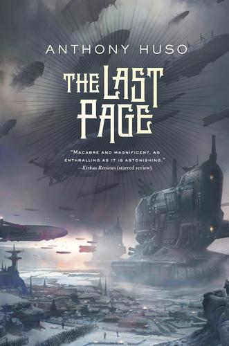 The Last Page Anthony Huso paperback-small