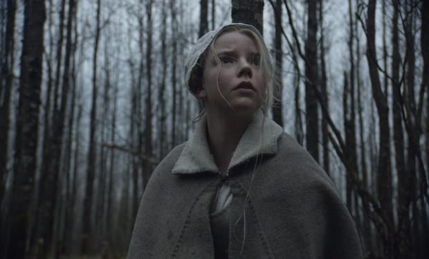 The Witch - Thomasin in the forest-small