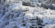 alhambra con nieve