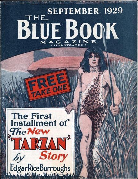 Blue Book September 1929 Tarzan-small