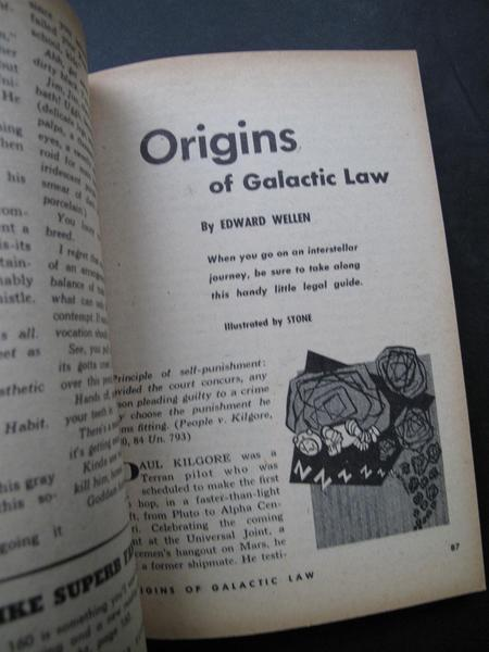 Galaxy April 1953 Origins of Galactic Law-small