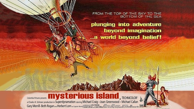Mysterious Island poster-small