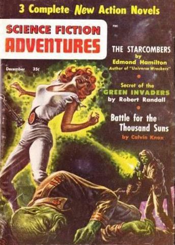 Science Fiction Adventures December 1956