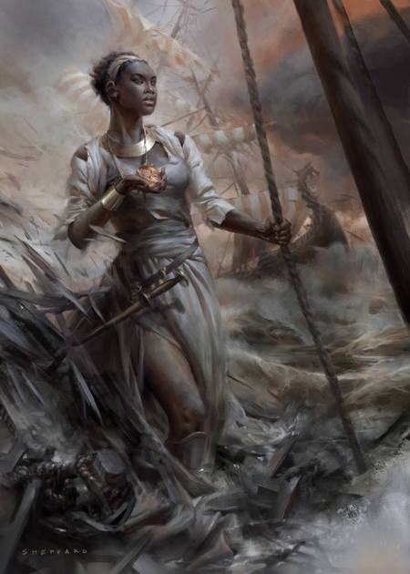 The Drowning Eyes by Cynthia Sheppard-small