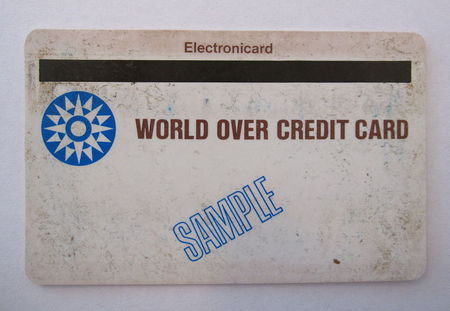Worlds first credit card-small