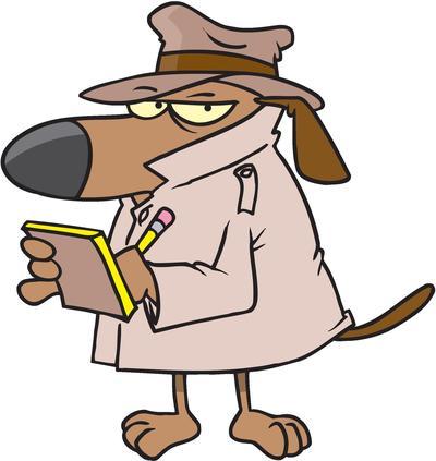 reporter dog-small