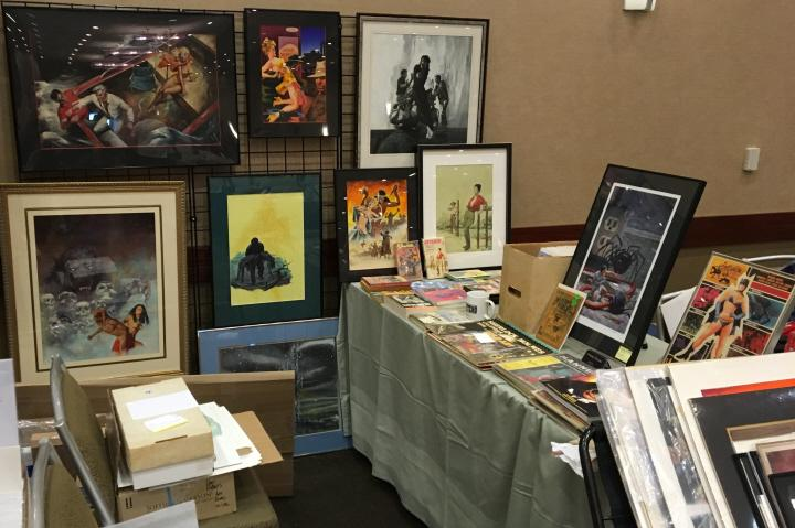 Art and pulps at Windy City Pulp 2016 2-small