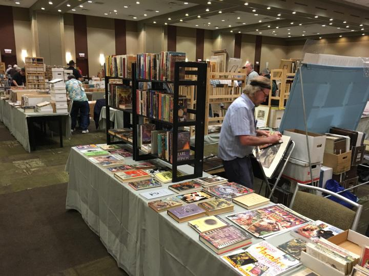 Art and pulps at Windy City Pulp 2016-small