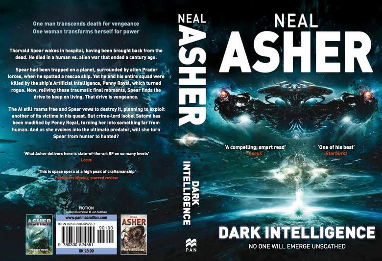 Dark Intelligence Neal Asher-small