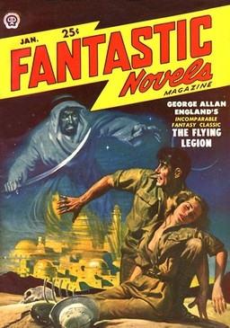 Fantastic Novels magazine January 1950-small