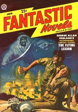 Fantastic Novels magazine January 1950-small