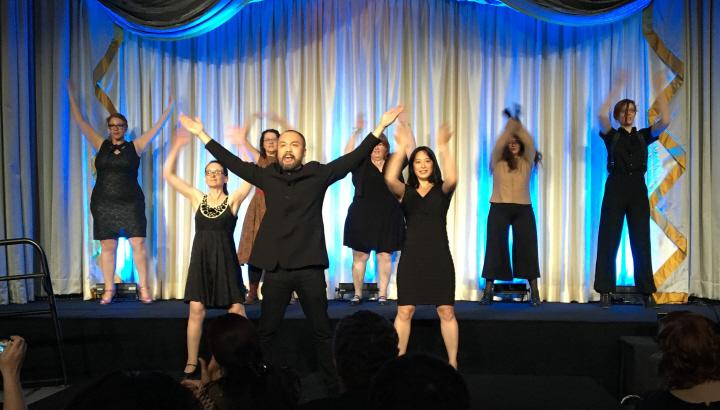 Henry Lien and the Eunuchs of the Forbidden City perform the brilliant Radio SFWA at the 2016 Nebula Awards 2-small