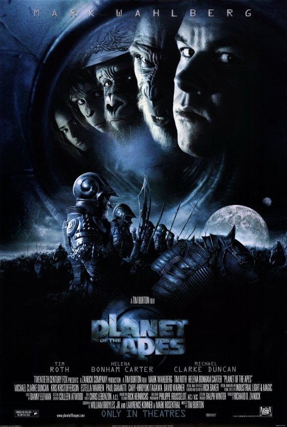 movie planet of the apes 2001