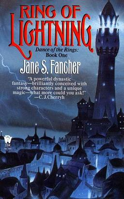 Ring of Lightning, Book One of Dance of the Rings, by Jane Fancher