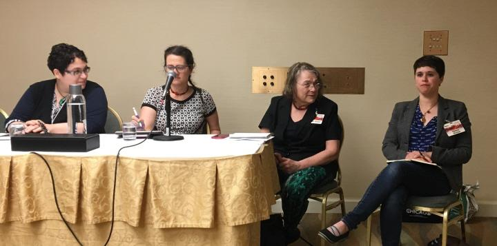 Rose Lemberg Alyx Dellamonica Eileen Gunn and Helene Wecker on Historical Research from the Margins-small