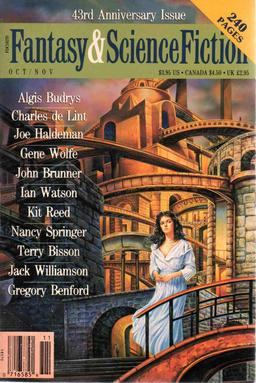 The Magazine of Fantasy & Science Fiction October-November 1992-small
