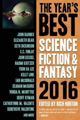 The Year's Best Science Fiction & Fantasy 2016-small