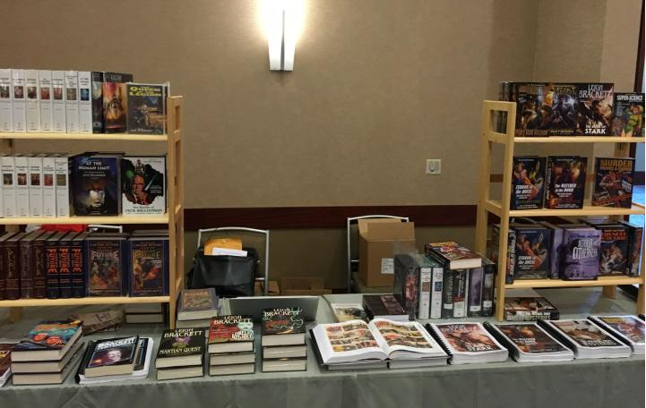 The always impressive Haffner booth at Windy City Pulp 2016-small