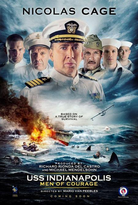 USS Indianapolis Men of Courage poster-small