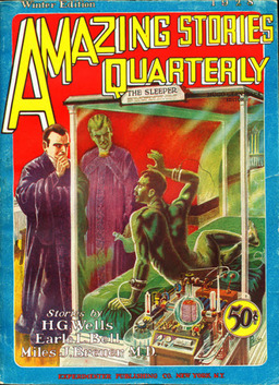 Amazing Story Quarterly, Winter 1928