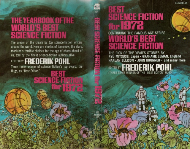 Frederik Pohl Best Science Fiction 1972