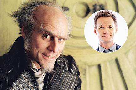 Neal Patrick Harris as Count Olaf-