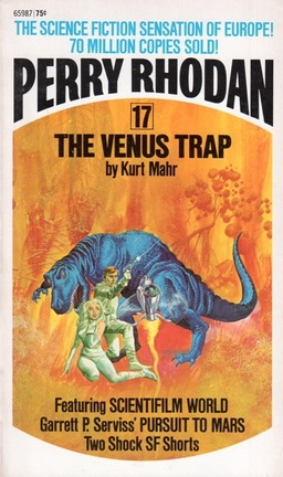 Perry Rhodan 17 The Venus Trap-small
