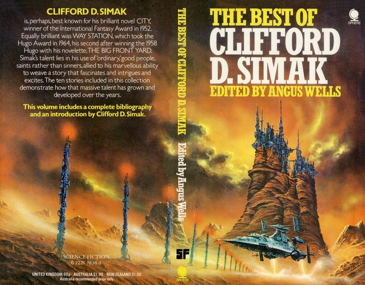 The Best of Clifford D Simak-small