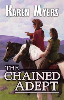 The Chained Adept - Full Front Cover - 550x850