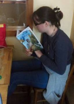 The Girl Reads Blackfeather