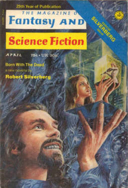 The Magazine of Fantasy and Science Fiction April 1974-small