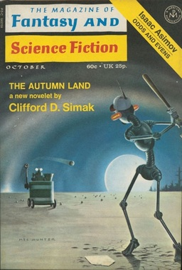 The Magazine of Fantasy and Science Fiction October 1971-small