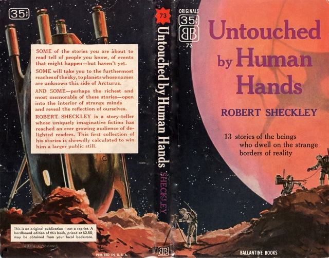 Untouched by Human Hands Robert Sheckley-small