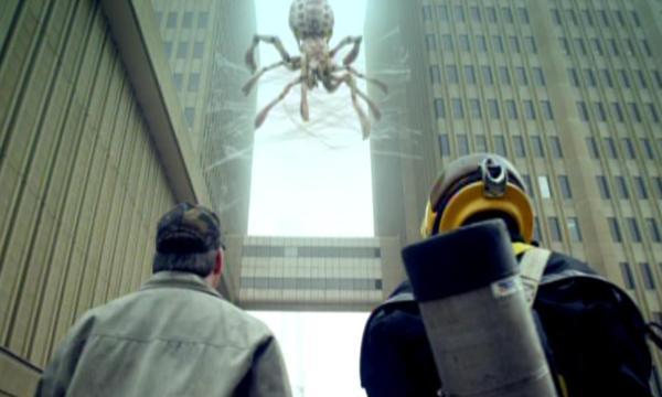 Arachnoquake big spider-small