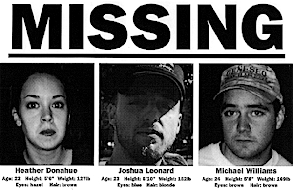 Blair Witch Missing poster
